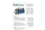 """BBA Pumps - Model BA400G D540 - 16"""" High Flow Flood Relief Water Pump Datasheet"""