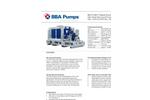 BBA Pumps - Model BA-C100H1 D418 - High Head Pumps  Datasheet