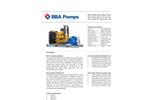 BBA Pumps - Model BA-C200H42 D557 - High Pressure Bolt-on Pump - Brochure