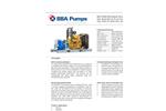 BBA Pumps - Model BA-C250H45 D610 - High Head Open Diesel Bolt-on Pump  Datasheet