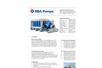 BBA Pumps - Model BA600G D743 - High Flow Flood Relief Pumps Datasheet