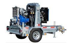 BBA Pumps - Model BA150E - 6-Inch Sewage and Dewatering Trailer Pump