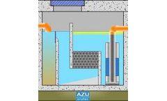 AZU - Model Storm S - Light Liquid Separator