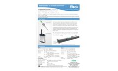 Eltek - Model GS41AV - Transmitters for Air Velocity Monitoring Brochure