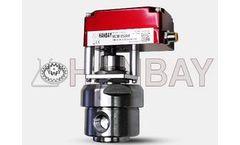 Hanbay - Model MCM-000XX-3-KPF-Series - Pressure Regulator Compact Electric Valve Actuators