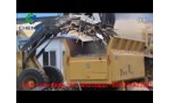 Chenze ZP1400-700 Wood Waste Grinding Shredder|Wood Grinder In The Biomass Power Plant