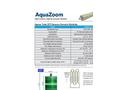 AquaZoom - Model ST - Reverse Osmosis Membrane Modules Brochure