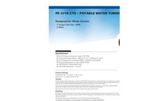 Charter Plastics - Model PE 4710 Black - CTS - Copper Potable Water Tubing Pipe Brochure