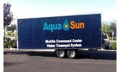 Aqua Sun - Model WTPA10-B, WTPA20-B, and WTPA30-B - Mobile Water Treatment Plants