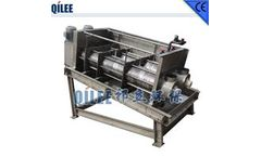 QILEE - Screw Sewage Treatment Equipment for Chemical Industry