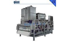 QILEE - Model QTE-750 - Good Quality Sewage Treatment Dehydrator