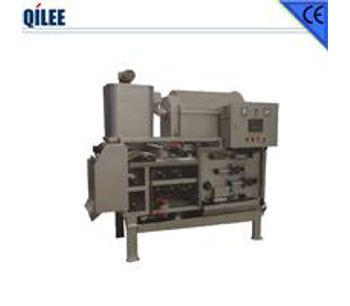 QILEE - Model QTB-750 - Sludge Dehydrating Filter Machine for Mineral Water Plant