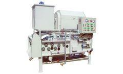 QILEE - Model QTB-500 - Sludge Dewatering Belt Machine Rotary Drum