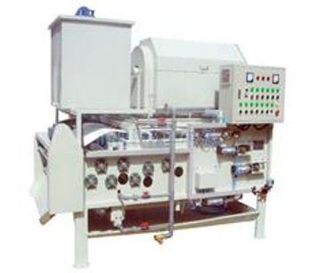QILEE - Model QTA-750 - Rotary Drum Dewatering Belt Machine