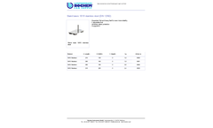 Bochem - Model 18/10 - DIN 12892 - Stainless Steel Stand Bases Brochure