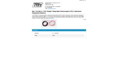 T-Tec - Model 10-3148-J-1 - Ready-Made Thermocouples & Resistance Temperature Detectors - Datasheet