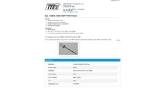 KWIK-SHIP - Model QR2-6 - Resistance Temperature Detectors Probes - Datasheet
