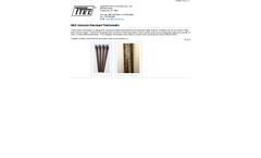 Model MVD - Abrasion Resistant Thermowells - Datasheet