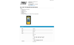 TTEC - Model D55 - Hand Held Indicator - Datasheet