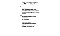 Model 2000 - Straight Metal Protection Tube Thermocouples - Datasheet