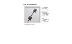 "TTEC Style 1050 ""V-Shaped"" Welding Pads - Datasheet"