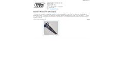 TTEC - Steamline Thermowells & Assemblies - Brochure