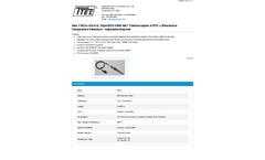 Model 5010-J-24-A12, Style 5010 KWIK-BAY - Thermocouples & Resistance Temperature Detectors - Adjustable Bayonet - Datasheet
