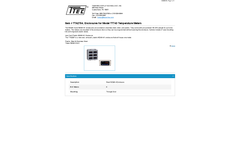 Model TTA2704 - Enclosures for Temperature Meters - Datasheet