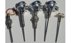 TECPAK - Model Series 1000 - Spring Loaded Thermocouples