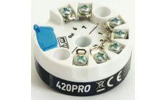TTEC - Model 420PRO - Low Profile Programmable Temperature Transmitters