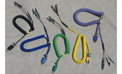 TTEC - Model 10-4906-U - Test Leads for Thermocouples & Resistance Temperature Detectors ( RTD)