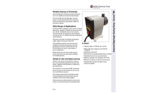 Encore - Model EM - Solenoid Diaphragm Dosing Pump - Brochure