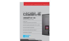 Noble - Fire Tube Combi Boiler Brochure