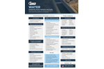 Chemistry Solutions for Water Treatment & Waste Water  Brochure