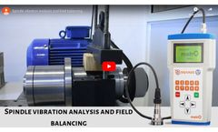 Spindle vibration analysis and field balancing
