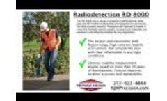 Radiodetection RD 8000 Video