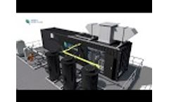 Biogas Upgrading by Bright Biomethane - How Does it Work? Video