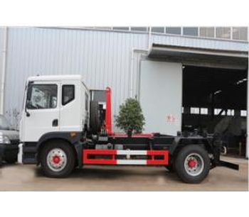 Dongfeng - Model EQ1165L - 10CBM - Hook Loader Garbage Truck