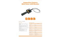 TvbTech - Model GL9008 - Portable Industrial Videoscope Endoscope Camera  Brochure