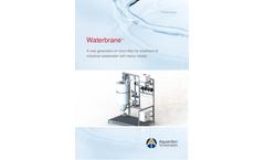 Waterbrane - Industrial Wastewater Microfiltration Unit Brochure