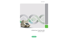 Bio Rad - Model CFX384 - Touch Real-Time PCR Detection System - Brochure