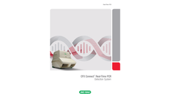 Bio Rad - Model CFX Connect - Real-Time PCR Detection System - Brochure
