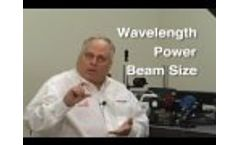 Factors to Consider When Choosing a Laser Beam Profiling System Video