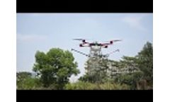 What Happens when a Drone Falls Onto Ground Video