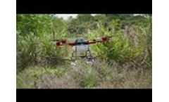 Agriculture Drone Crash Testing Video