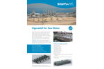 Sigmadaf for Sea Water