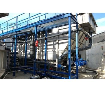 Dissolved Air Flotation System for Low to Medium Solids Loaded Wastewater Flows. DAF Clarifier-2