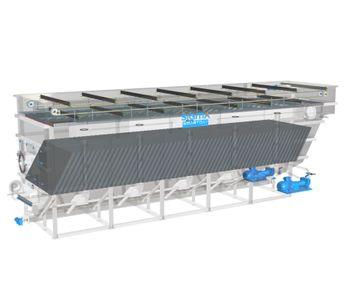 SIGMADAF - Model FPHF - Dissolved Air Flotation System. DAF Clarifier