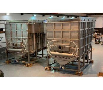 Dissolved Air Flotation System. DAF Clarifier-2