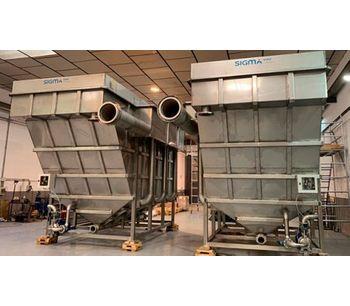 Dissolved Air Flotation System. DAF Clarifier-3